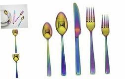 Cambridge Silversmiths Logan Rainbow Mirror 20 Piece Flatwar