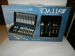 Wallace Camden 18/10 Stainless Flatware Indonesia Brand New