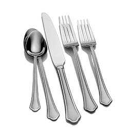 Pfaltzgraff® Capri Frost 53-pc. Flatware Set
