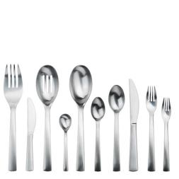 Gourmet Settings Carry On 45-Piece Flatware Set, Service for
