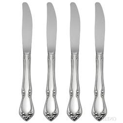 Oneida Chateau Fine Flatware Set, 18/8 Stainless, Set of 4 D