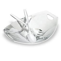 Dansk Classic Fjord 3-piecce Metal Salad Server Set