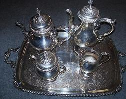 International Silver Co. Vintage-Silver Plated Coffee/Tea Se