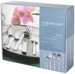 Reed & Barton Cole 65-piece 18/10 Stainless Steel Flatware S
