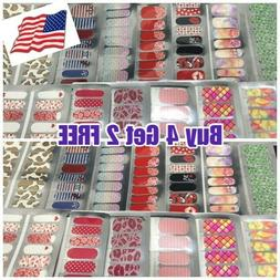 Color Nail Polish Strips BUY 4 Get 2 FREE Add 6 to cart