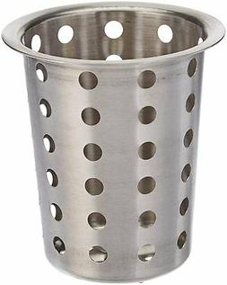 "Condiment Cylinder 5.5"" Stainless Steel Holder for Table-top"