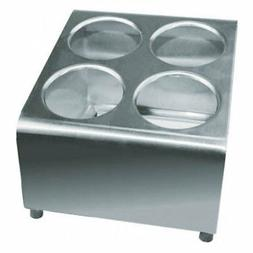 Condiment Cylinder Holder Stainless Steel Table-top Flatware