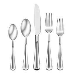 Oneida 89 Piece Dartford 18/10 Stainless Fine Flatware Set,