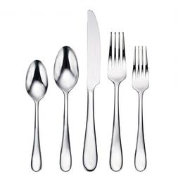 Oneida Edessa Mirror 88-Piece Flatware Set, Service for 12