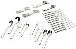 Yamazaki Epoch 65-Piece Stainless-Steel Flatware Set, Servic