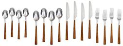 Cambridge 16-pc. Esben Beachwood Flatware Set One Size