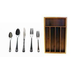 Everyday 60pc Flatware Service for 12/Organizer
