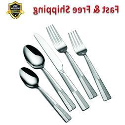 Flatware Set 20 Piece Durable Stainless Steel Dishwasher Saf