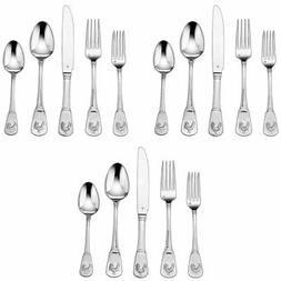 Cuisinart 3-Pack of 20-Piece Flatware Set, French Rooster CF