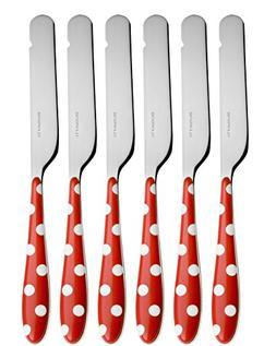 "BUGATTI - Flatware set 6 pcs. Butter knife""Pois"" ROSSCON FIN"