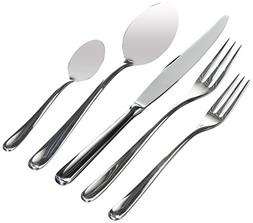 """Alessi""""Caccia"""" Flatware Set Composed Of One Table Spoon, Tab"""