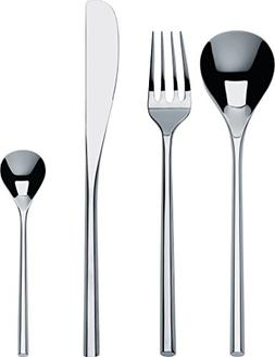 """Alessi""""MU"""" Flatware Set Composed Of Six Table Spoons, Table"""
