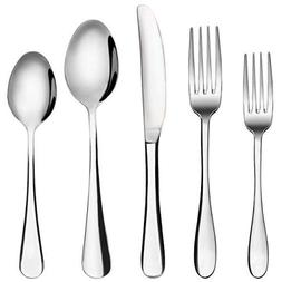 Silverware Set, MCIRCO 20-Pieces Flatware Set Stainless Stee