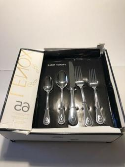 Lenox French Perle 65 Piece Flatware Set 18/10 Stainless Ste