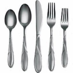 Cambridge Gabriella Sand 20 pc.Stainless Steel Flatware Set