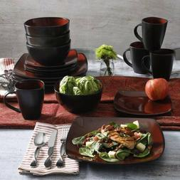 Gibson Home Soho Dinnerware Set and International Silver Sim