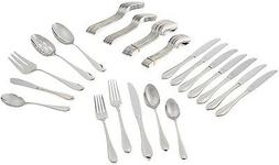 Lenox Gorham Studio Stainless 45 Piece Set-service for 8 and