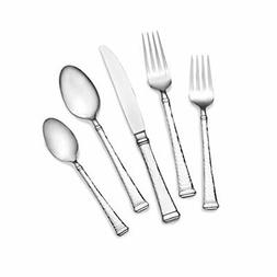 Mikasa 5186962 Hammered Harmony 20-Piece 18/10 Stainless Ste