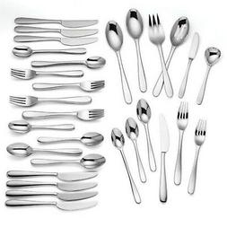 Lenox Haven 54 Piece Flatware Set Service For 8 Stainless St