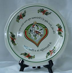 Pfaltzgraff Heritage Holiday Cookie Plate