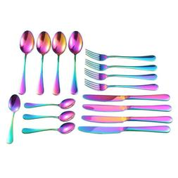 Hot XD-Stainless Steel Flatware <font><b>Set</b></font>,1Set