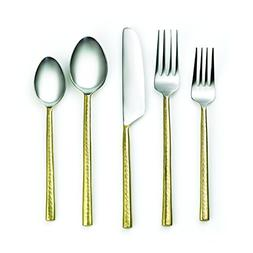 Cambridge Silversmiths 20 Piece Indira Priya Flatware Set, B