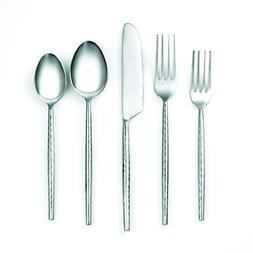 Cambridge Silversmiths 20 Piece Indira Rani Satin Flatware S
