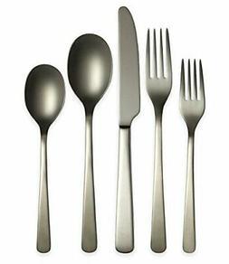 julie satin flatware set