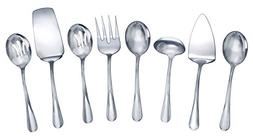 Gourmet Basics by Mikasa 5181046 Kaylee 8-Piece Stainless St
