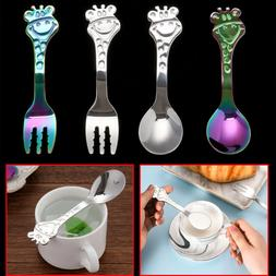 kitchen and dining deer christmas coffee spoons