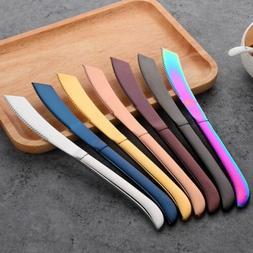Kitchen Table Multi-color Steak Knife Stainless Steel Dinner