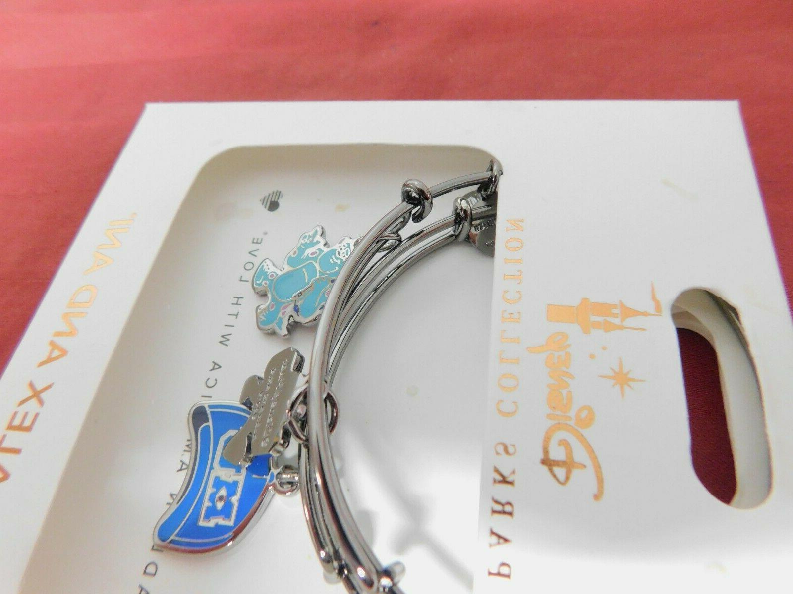 1 Disney Parks Monsters Inc Alex 2 Bracelet Set Sulley Mike