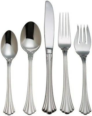 10 stainless steel place setting
