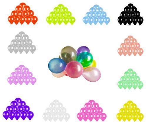 100pcs colorful latex balloon 10 inch pearl