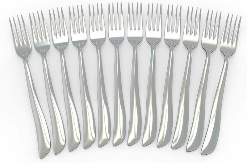 12 PCS Forks 18/10 Stainless Forks,