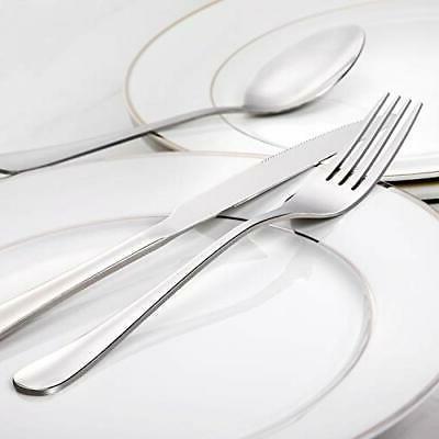 Forks Steel Dessert 8