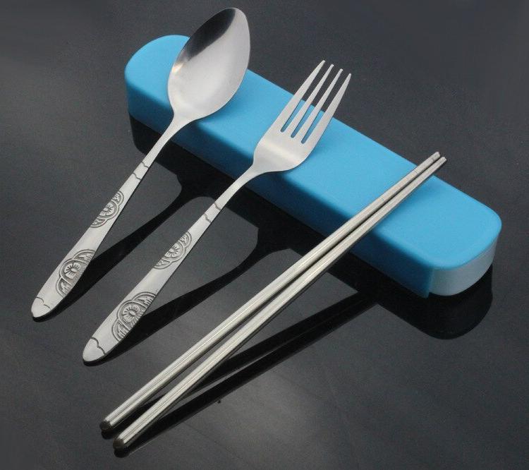 1SET Cutlery Set Perfect Bento Lunch Box <font><b>Flatware</b></font> Set 081