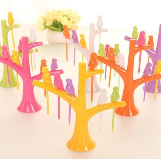 1SET Tableware Sets Fruit Forks 1 Forks Hot Sale Vegetable Fork