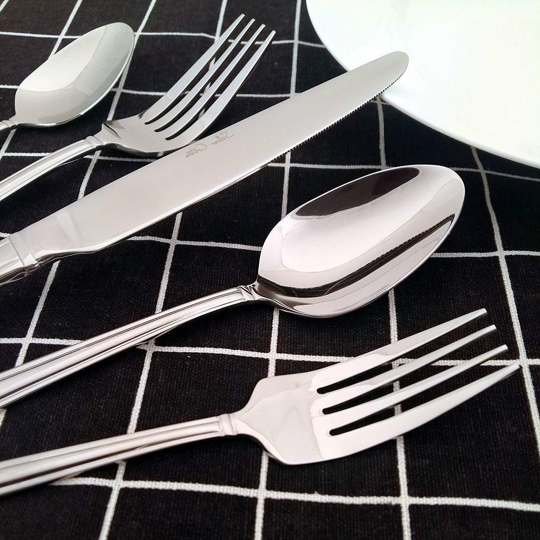 20/100 Piece Silverware Cutlery Service