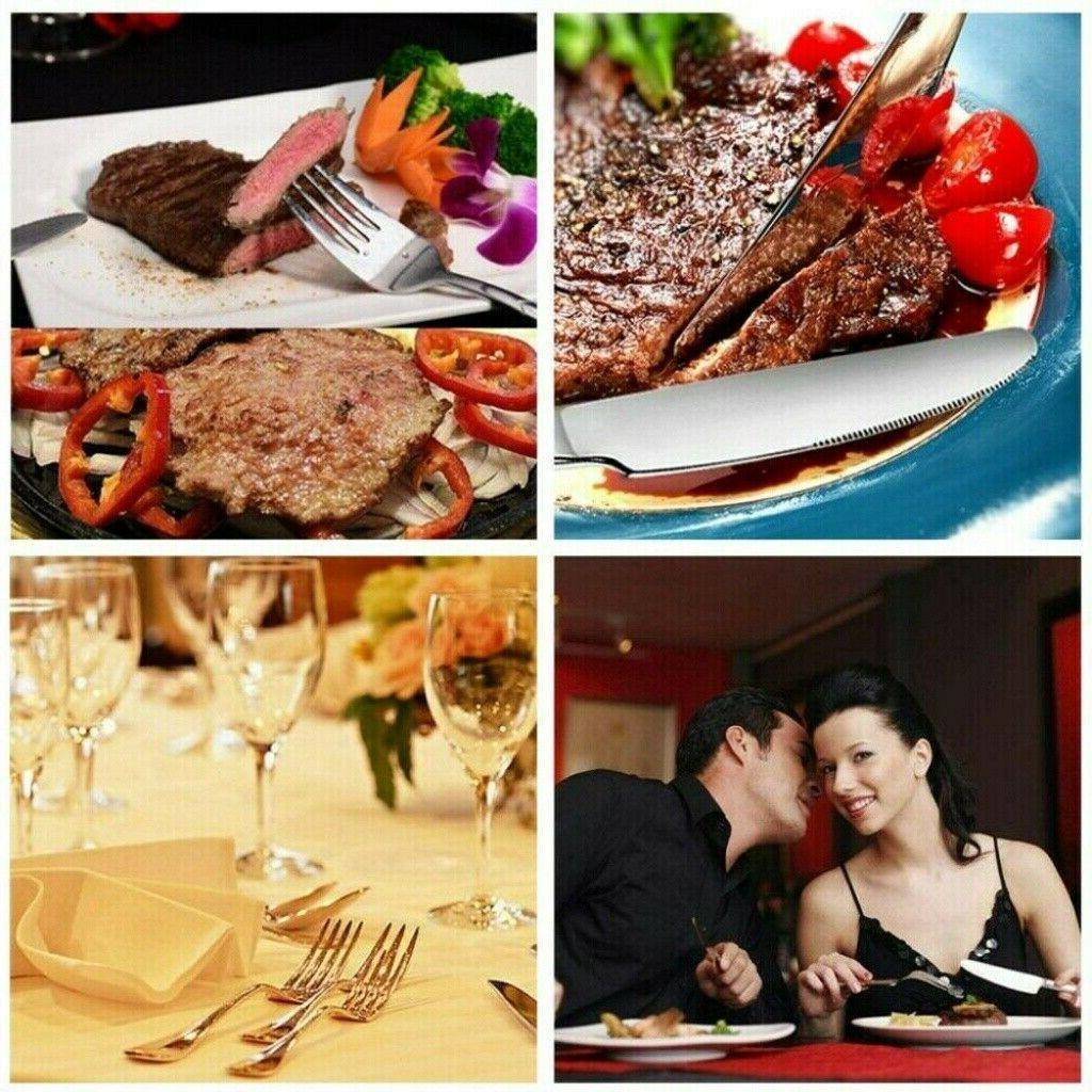 20 Pcs Stainless Flatware Service 4 Kitchen Cutlery USA