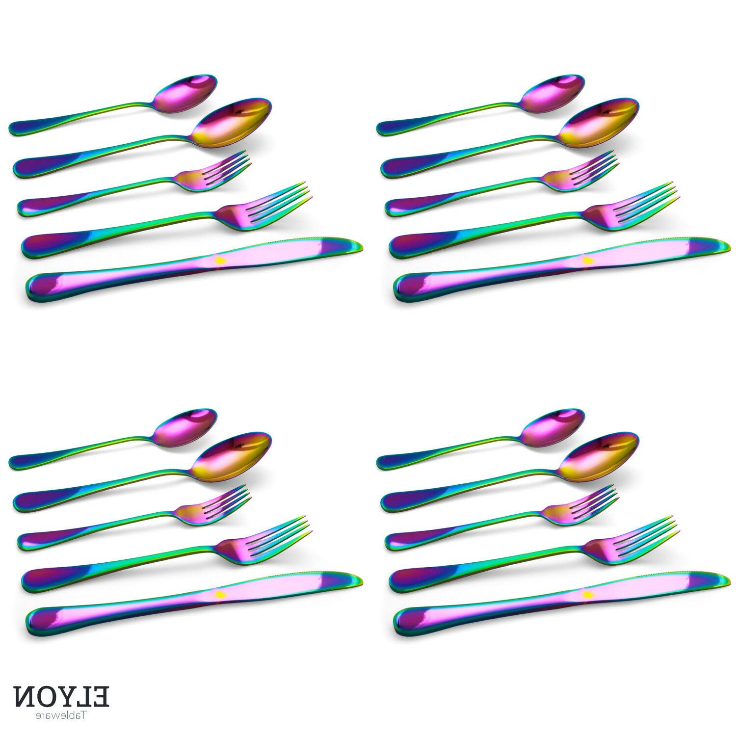 20-Piece Stainless Steel Set For 4