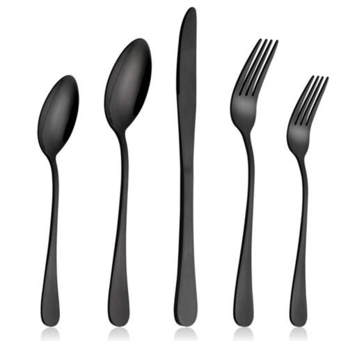 20 piece stainless steel dinner knife spoon