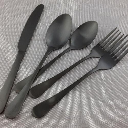 20 piece Steel Dinner Knife Matte Set