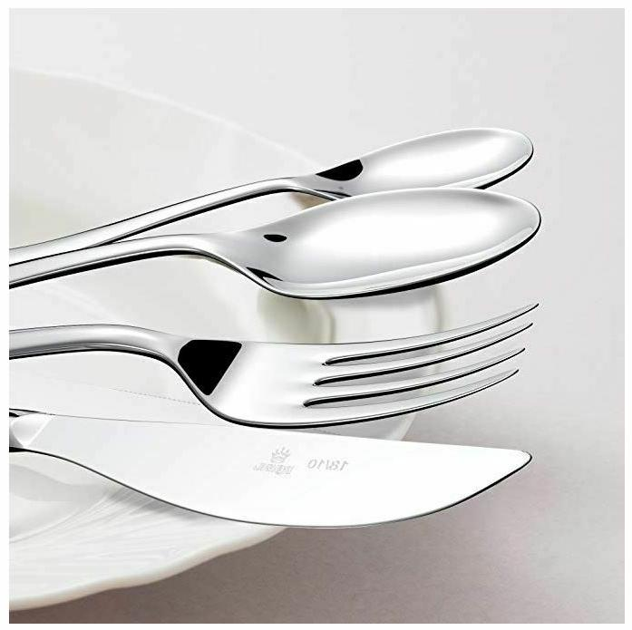 20 Pieces Silverware Set Flatware For Stainless Fork Spoon