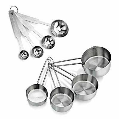 42917 stainless steel measuring spoons and measuring